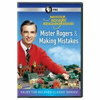 Mister Rogers' Neighborhood: Mister Rogers and Making Mistak DVD NEW 2019
