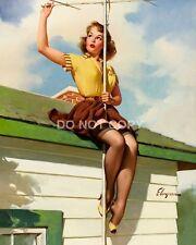 Gil ELVGREN Vintage con PIN UP GIRL A4 lucida arte fotografica POSTER STAMPATI NUOVI #8