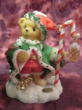 "Cherished Teddies #706701 ""Wolfgang-""The Spirit Of Christmas Is In Us All"" -Nib"
