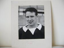 Willie Wallace football player press photograph Hearts of midlothian football