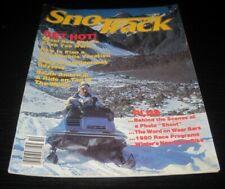Vintage Sno Track Snowmobile magazine arctic cat ski doo polaris yamaha 1979