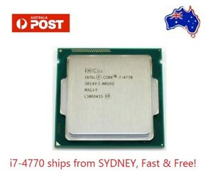 i7-4770 cpu Ships from SYDNEY! Fast and FREE shipping!