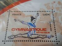 Timbre SPORTS PASSION GYMNASTIQUE FRANCE 2020, timbre neuf**, VF MNH STAMP