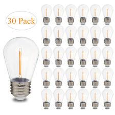 S14 1 Watt LED Bulbs for Outdoor String Lights Replacement Shatterproof