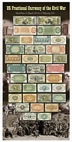 US Fractional Currency Poster.
