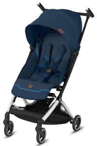 GB Pockit+ All-City Lightweight Ultra Compact Fold Baby Stroller Night Blue
