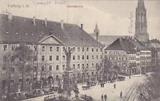AK Freiburg i. B., Karlskaserne, Feldpost 1917