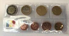 Erster Euro KMS ANDORRA 2014 - alle 8 Münzen mit 1+2 Cent * RAR *