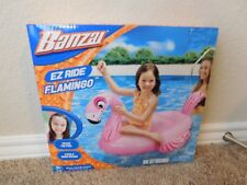 Brand new in the box Banzai EZ Ride Flamingo inflatable pool float