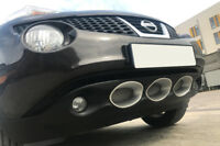 BUMPER INSERTS / FINISHERS / MASKS COMPATIBLE WITH NISSAN JUKE ( 2010-2014 )