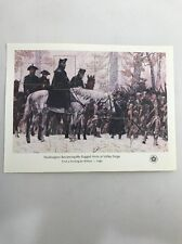 Scott #1689 31 Cent Stamp One sheet 5 stamps Washington at Valley Forge Mnh