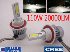 Car Light 110W 20000LM CREE LED Headlight Kit Bulb H1 H4 H7 H13 9007 White 6000K