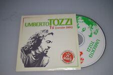 Umberto Tozzi – Tu (Version 2001). CD-SINGLE Promo