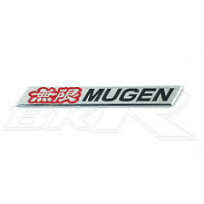 Aluminium metal RED Mugen grill spoiler badge emblem FN2 FN EP3 EP civic accord