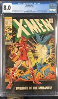 X-Men #52 CGC 8.0 - 1st Erik the Red