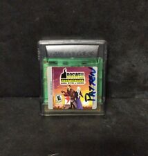 Roswell Conspiracies: Aliens, Myths & Legends (Nintendo Game Boy Color, 2001) GB