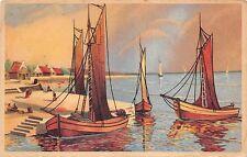 BF37239 painting sailing vessels  belgium Boat Ship Bateaux