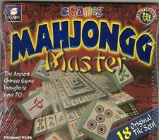 MAHJONGG MASTER | New sealed | Mahjong | Majang Win 95 98 XP(7 8 10 see listing)