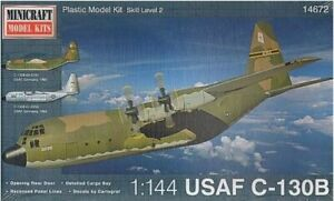 Plastic Model - Aircraft C130B USAF - Minicraft Military Transport Craft
