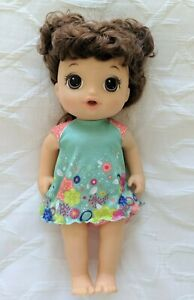 """Hasbro Baby Alive Learn to Potty Baby Doll Talking Phrases Songs 15""""  2017"""
