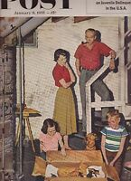 Saturday Evening Post Willie Shoemaker Edmund Purdom January 8 1955