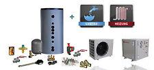 Split Luft /- Wasser Wärmepumpe MDP50D 18 kW - Komplettset / Kompletanlage