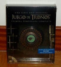 JUEGO DE TRONOS-1º TEMPORADA COMPLETA-EDICION LIMITADA-STEELBOOK-5 BLU-RAY-NUEVO