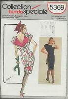 out-of-print:  BURDA pattern 5369, Schnittmuster, Gr. 36-44, sizes 10 up to 18,