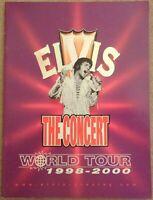 Elvis Presley  - The Concert World Tour 1998-2000 programme