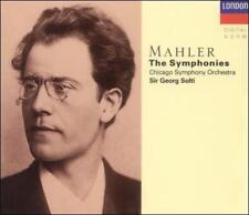 Mahler: The Symphonies, Sir Georg Solti, Chicago Symphony Orchestra 10 Discs