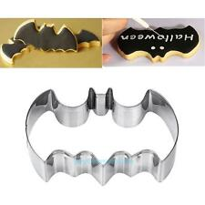 Stainless Steel Batman Cookie Cutter Cake Mold Biscuit Baking Mould XMAS Decor