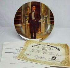 1978 Knowles Gone with the Wind Rhett Butler Collector Plate by Raymond Kursar