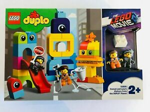 LEGO 10895 DUPLO Movie 2 Emmet and Lucy's Visitors from the DUPLO Planet sealed