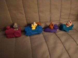 1996 Garfield & Friends KFC Toys Lot Of 4 Loose Vintage