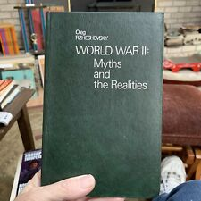 Word War II: Myths And Realities By Rzheshevsky, Oop Soviet History Book