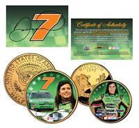 DANICA PATRICK Nascar 24K Gold U.S Legal Tender 2-Coin Set *Officially Licensed*