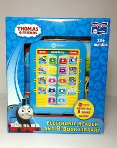 Thomas And Friends Electronic Reader With 8 Book Library 18 months+ New
