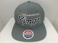 Los Angeles Kings NHL Retro Gray Snapback Hat Cap NEW With Tags By Zephyr