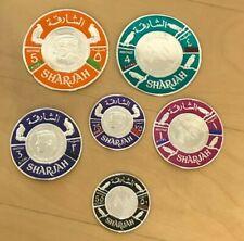 United Arab Emirates - Sharjah - Set of 6 Foils