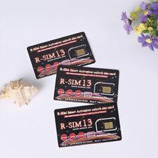 Hot!! RSIM 13 R-SIM SUP Nano Unlock Card For iPhone XR XS MAS X 8 7 6 5 4G IOS