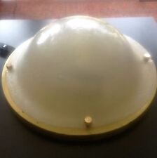 1960s XXL frosted glass LIMBURG ceiling mount Mid-Century vintage murano tynell