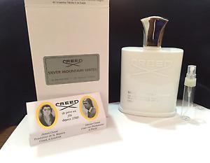Creed Silver Mountain Water Millesime eau de parfum NATURAL SPRAY - 6ml size