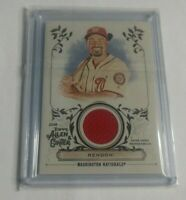 R23,454 - ANTHONY RENDON - 2018 TOPPS ALLEN & GINTER - JERSEY - NATIONALS -