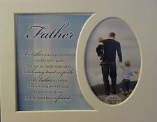 """père"" Keepsake photo mount to fit 8 ""x 10"" chambre salon couloir."
