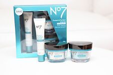 Boots No7 Protect&Perfect Intense Advance Anti-Ageing Skincare KIT Serum 07/2018