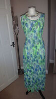 Gorgeous CMD Dress Curve Crinkle Jersey Maxi, Holiday Occasion, Size 12