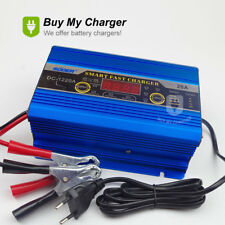 12V 20A 200ah Lead Acid Battery Charger  Three-phase LED Display AC 220V 50Hz