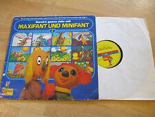 LP Maxifant und Minifant 3 Durch's ganze Jahr Vinyl !! RAR !! PEGGY 10 22279-9