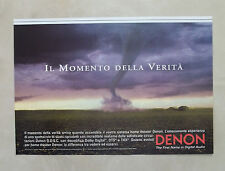 A924-Advertising Pubblicità-1999 - DENON - HOME THEATER