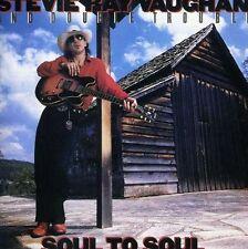 STEVIE RAY VAUGHAN - Soul To Soul + Bonus Tr. - Dig.Rem. - CD - NEU/OVP